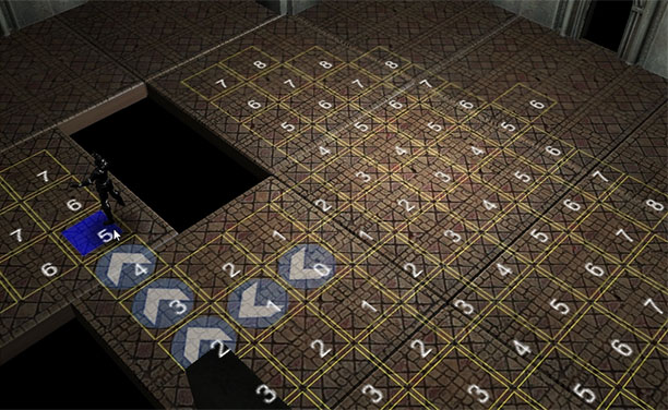 Movement with pathfinding.